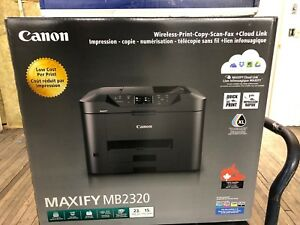 Canon MAXIFY MB2320 - WIRELESS PRINTER FOR CHEAP IN BOX
