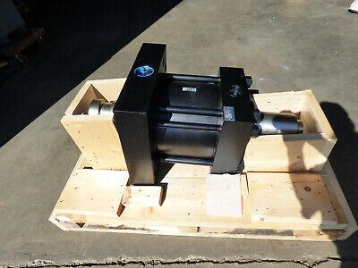 Parker Double Rod Hydraulic Cylinder 12 Diameter 4.750 Stroke 3000 Psi Unused