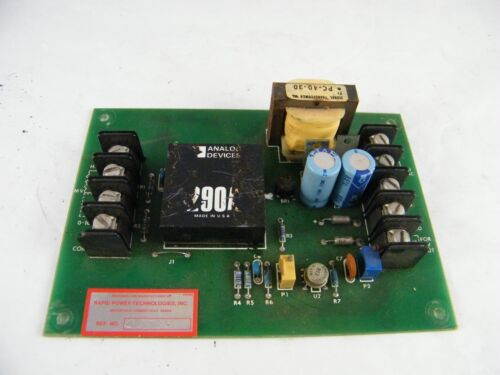 RAPID POWER TECHNOLOGIES POWER SUPPLY PART # C25918