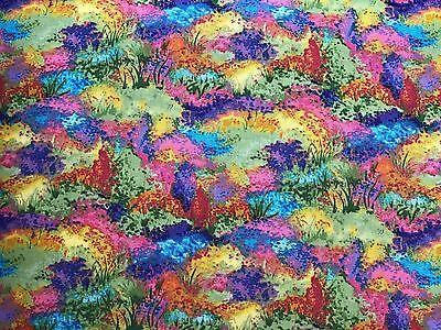 Baumwolle Quilt Stoff Borghesi Gärten von Ro Gregg für Northcott Studio BTHY ()