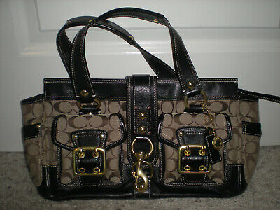 Authentic Coach K0626-10341 65th Anniversary Legacy Satchel Purse Bag