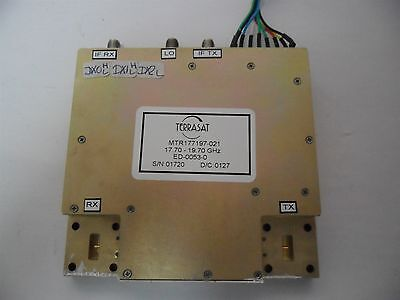 Terrasat Rf Microwave Rx Tx Mixer Transceiver 17.70- 19.70ghz Ed-0053-01