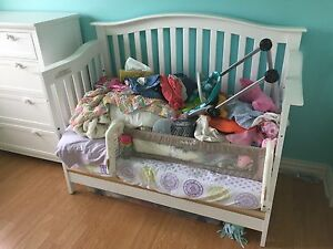 Nursery furniture - crib, dresser, change table
