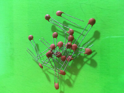 5 Pieces 50v Ceramic Capacitor Multiple Values Available - Pick 1pf - 100nf Usa
