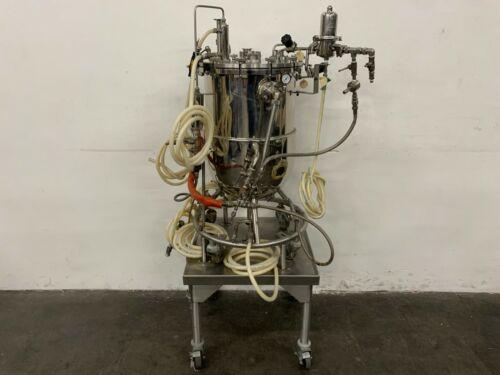 Biolafitte 63 Liter Stainless Steel Jacketed Bioreactor Max Work Pressure 2 Bar