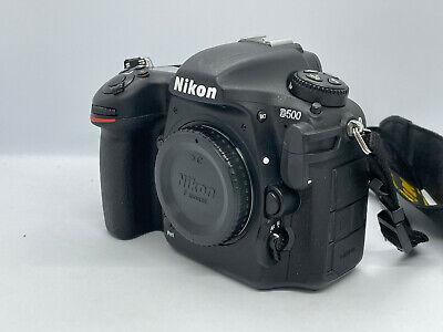 NIKON D500 21MP DIGITAL SLR CAMERA - Only 10483 Actuations  - D 500
