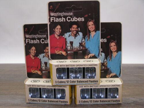 Westinghouse Flash Cubes, Color Balanced - QTY of 3 Packs, 3 Cubes per Pack