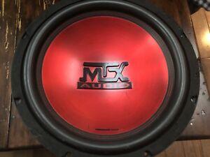 "MTX Thunder 12"" subwoffer"