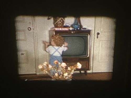 4 1960s Babys First Steps So Cal Kodachrome 8mm Color Amateur Home Movies - $3.99