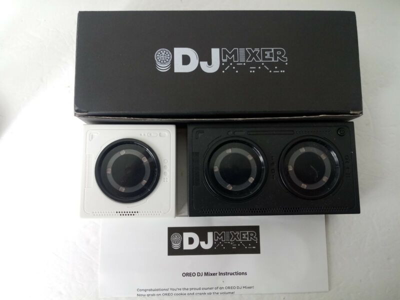 DJ Mixer by OREO Cookies, Musical Turntable: Promo, Rare, NEW