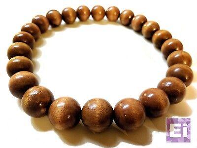 Akuma Prayer Bead Necklace: Brown