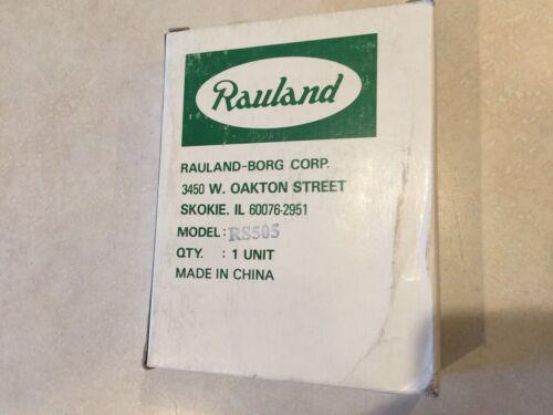 """Rauland Responder  RS505 Nurse call intercom speaker """"NOS"""""""
