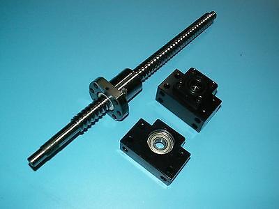 Antibacklash 20mm Ballscrew Rm2005-300mm-c71set Bkbf15 End Support Bearing Cnc