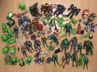 Figure Lot 40+ Inc. Star Wars, Thundercats, The Bogies, Green Lantern, Madballs+