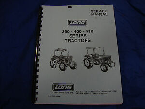 Long 445 Manual  Long Tractor Wiring Schematic on