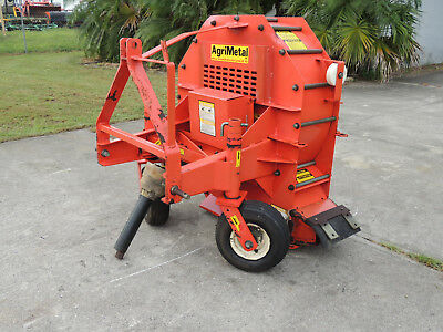 Agri Metal Blower  Bw-300 Compact Tractor Pto Lawn Leaf Blower Very Clean