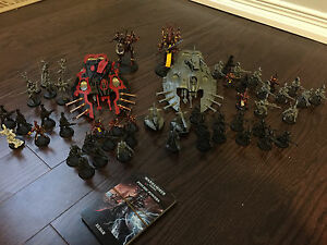 Eldar army for SALE or TRADE for other warhammer 40k army!!