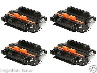 4 PK BLACK TONER HP LaserJet Enterprise 600 M602n M602dn M601n M601dn CE390A 90A