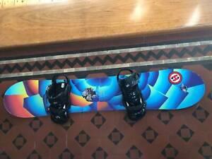 PRICE DROP Burton Snowboard Kit: Board (134cm), Boots (5K) & Bindings North Bondi Eastern Suburbs Preview