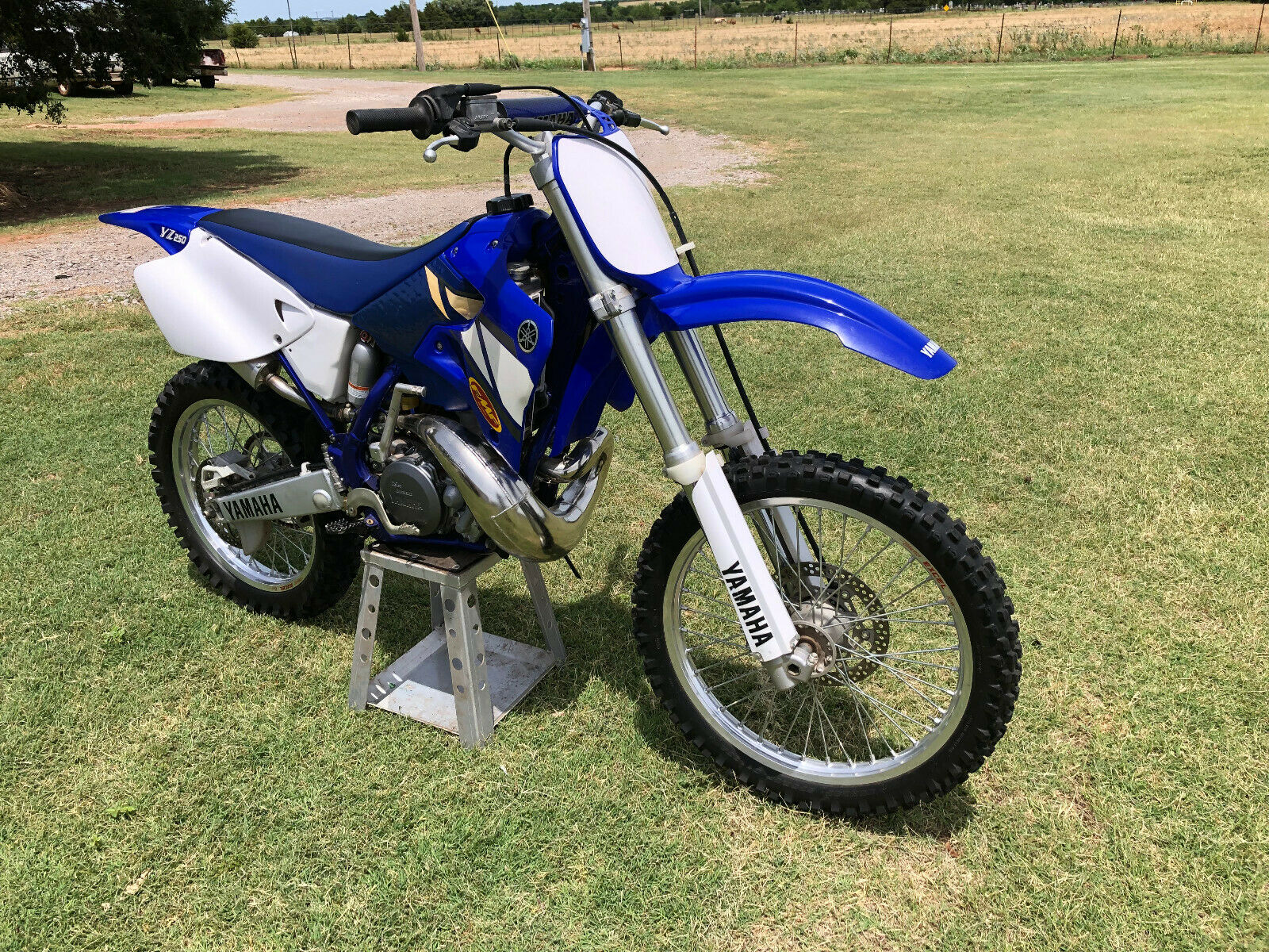 yamaha yz 125 2001 motocross