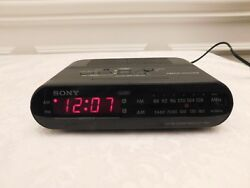 Sony ICF-C243 Dream Machine Clock Radio - Large RED display, AM/FM, Works!