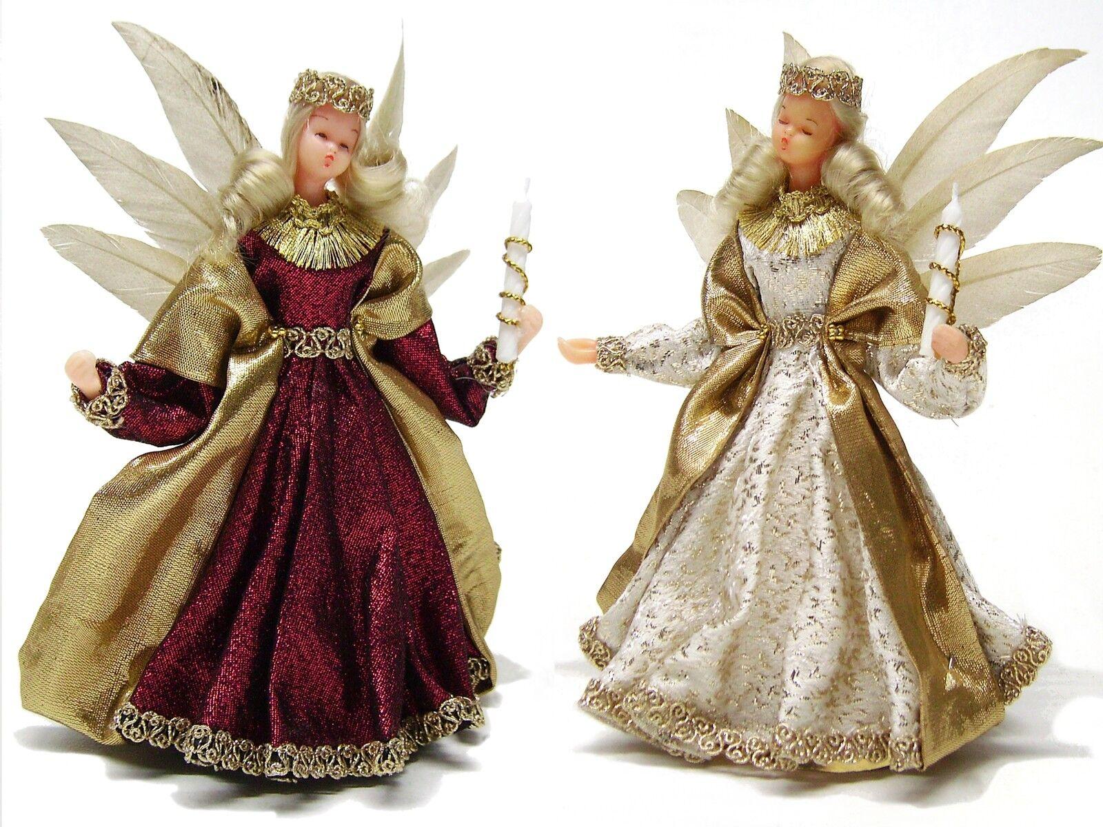 engel mit federn wachskopf rauschgoldengel angel handmade 19cm eur 39 50. Black Bedroom Furniture Sets. Home Design Ideas