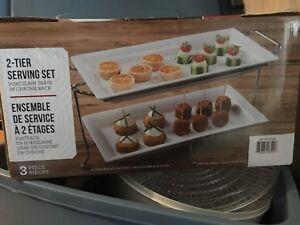 2-tier serving set