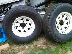 4WD WHEELS x 2 Bracken Ridge Brisbane North East Preview