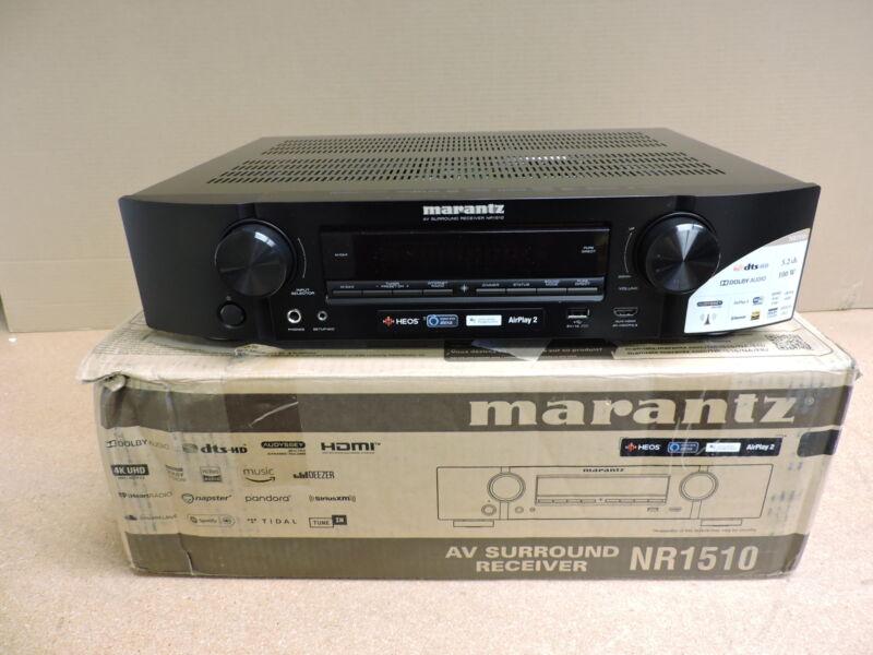 Marantz NR-1510 Slim 5.2-Channel 4K Ultra HD AV Receiver with HEOS Built-In