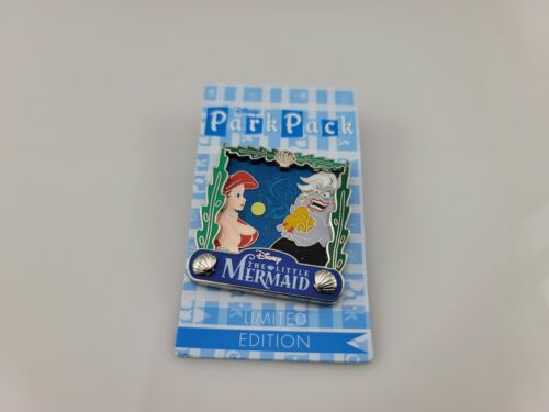 Disney Park Pack May 2016 Ariel Ursula Little Mermaid Pin LE