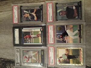 Baseball Cards Graded Rookies