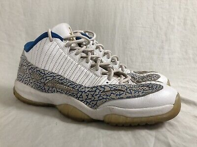 official photos c7f26 1e9f4 2007 Nike Air Jordan 11 Retro Low 306008-172 Size 13 Argon Blue White Zest