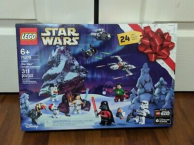 New 2020 LEGO Star Wars Advent Calendar Ugly Christmas Sweater Vader (75279)
