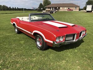 1972 Oldsmobile Cutlass 442 W30 Recreation