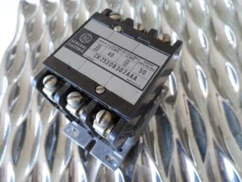 General Electric / GE  Contactor CR253DB302AAA   110V COIL