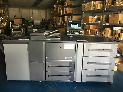 Konica Minolta Bizhub Press 1052 W Pf-703 Fs-532 Low Meter 623k Clicks