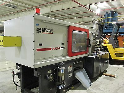 Cincinnati Milacron 170 Ton Injection Molding Machine Mt170 10.3 Oz 2005
