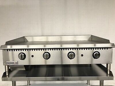New 48 Thermostatic Griddle Flat Grill Thermostat Commercial Gas Temperature