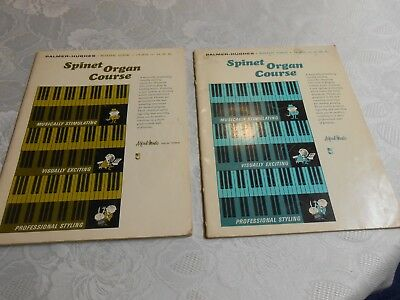 Palmer Hughes Spinet Organ Course - ( 2) 1965  Editions