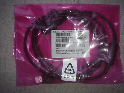 Motorola Hkn6184c Programming Lead Xpr4550 Xpr5350 Inc Free Tracked Postage
