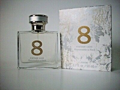 Abercrombie & Fitch ~8 Vintage Luxe ~Women Perfume Limited Edition 1.7 fl oz NIB
