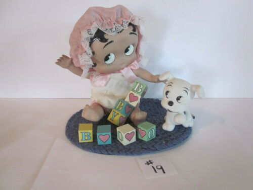 "Betty Boop Baby Porcelain Doll - ""B"" is for Boop"