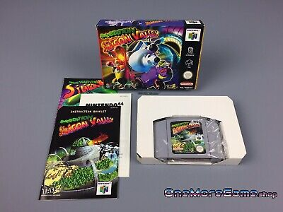 Nintendo 64 (N64) // Spacestation Silicon Valley +OVP +Anleitung // dt. PAL CIB