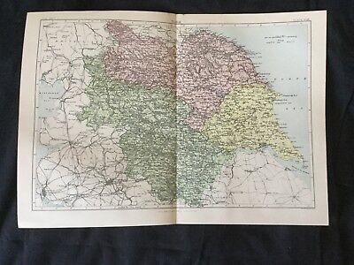 Old Ordnance Survey  Detailed Maps Whitby Yorkshire 1911 Godfrey Edition New