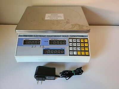 Northern Industrial Scale 19390 6.6lb Weight Scale Led Stainless Steel Platform