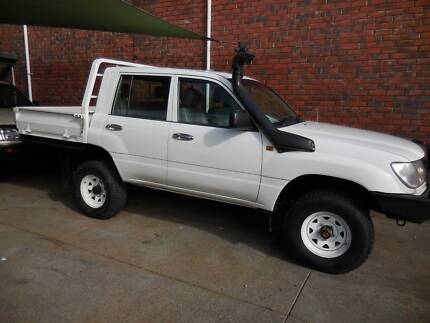 2004 Toyota LandCruiser DUAL CAB UTE ONLY 54000KMS $135000PW Highgate Perth City Preview