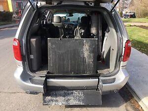 Adapted van