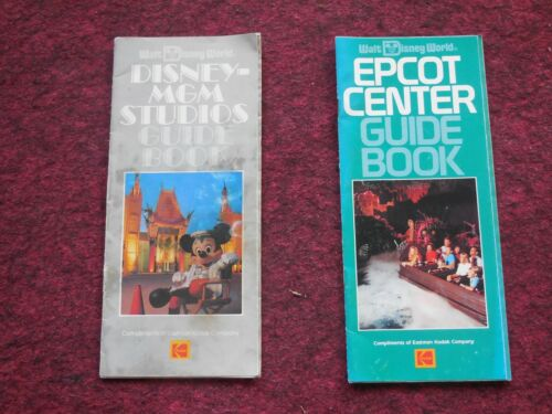 GUIDE BOOKS FOR MGM STUDIOS AND EPCOT