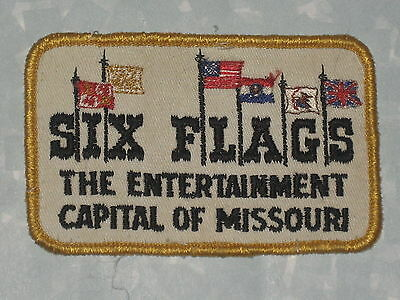 Six Flags Patch   The Entertainment Capital Of Missouri   3 7 8  X 2 1 2
