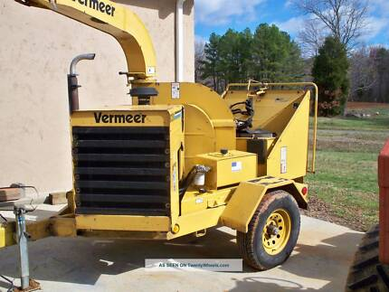 Vermeer Chipper and Tipper Truck Rental / Hire